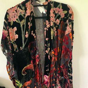 Velvet One size fits all kimono from revolve